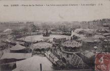 Carte Postale Ancienne Paris (foire)