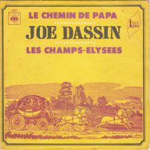 JOE DASSIN - Les Champs-Elysées 45 t