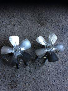 Ventilateur industriel vintage