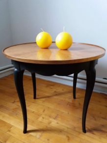 Table basse ou table d'appoint marquete