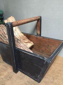 Ancien panier en bois