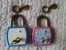 lot de 2 cadenas vintages