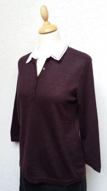 Pull Comptoir des Cotonniers avec col chemise