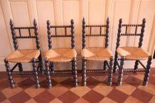 Chaises régionales vintage