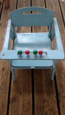 chaise pot ancienne années 50