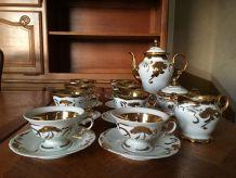 Service à café complet en porcelaine  Wawel