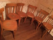 6 chaises bistrot BAUMANN
