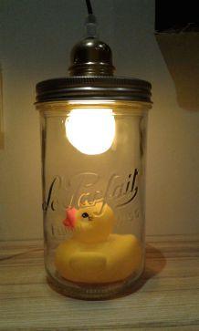 Lampe canard unique
