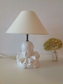 Lampe Pierrot rococo kitch