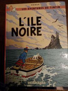 Bd Tintin - L'ile noire