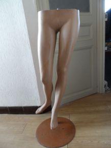 Jambes mannequin de vitrine féminin VINTAGE TBE
