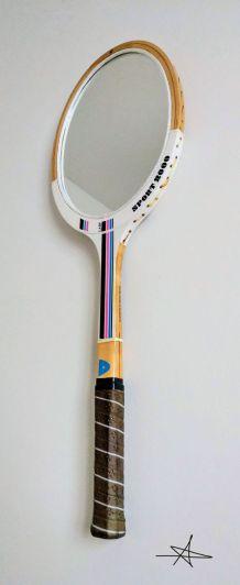 "Miroir, raquette tennis, raquette miroir - ""Lady"""