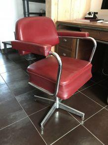 Chaise de bureau années 70