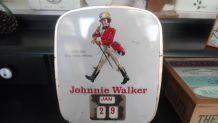calendrier johnnie Walker