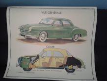 Illustration scolaire la voiture