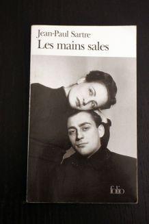 """Livre d'occasion """"Les mains sales"""" de Jean Paul Sartre"""
