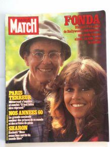 Magazine Paris Match de collection ancien du 27 aout 1982