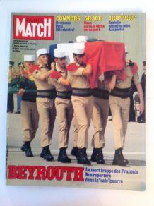 Paris Match de collection  vintage magazine du 23 Septembre 1983