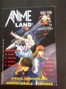 Magazine de l'animation et du manga animeland de 1995.