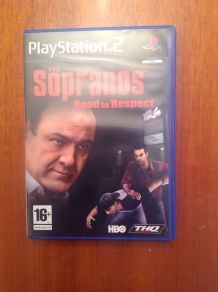 Jeu PlayStation 2 the Sopranos Road to respect