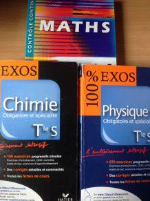 Lot manuels scolaires Terminale S