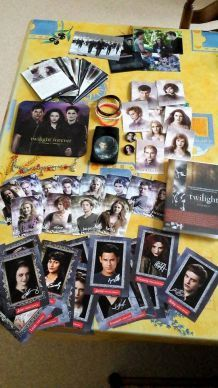 Lot de babioles Twilight
