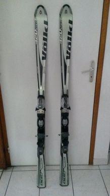 skis VOLKL paraboliques