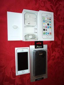 IPhone 5s 32Go Or Parfait État Garanti Apple Care +