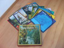 Coffret «Hymne à la nature»  - 12 vinyles - TBE