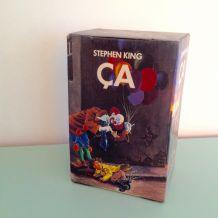 """Coffret """"Ça"""" le clown vintage d'occasion de Stephen King"""