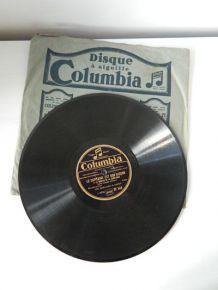 Vinyle 78 tours Columbia DF 546, Marc-Hévy&Camus - Le Capitaine est Bon Garçon + Malade !!!