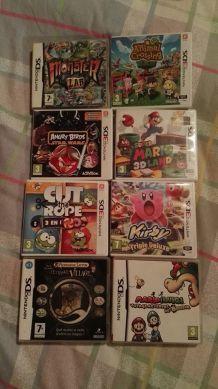 Nintendo 3DS pas cher avec 8 jeux