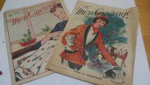 Deux magazines de mode 1954