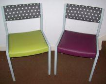 lot de 4 chaises cuisine