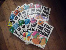 """Lot Des 13 Bd """"Il Était Une Fois L'homme"""" -Série Complète-Tome 1à13-Ytra Prodifu"""