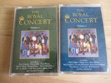 Lot 2 K7 The royal concert vol 1 et 2