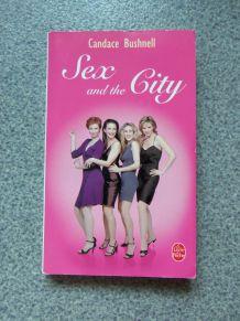 """Livre """"Sex and the City"""" de Candace Bushnell"""