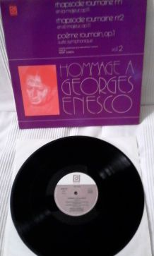 "VINYLE ""HOMMAGE A GEORGES ENESCO"""