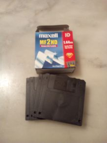 DISQUETTES  MAXELL MF2HD