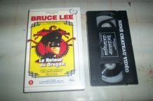 K7 VIDEO LE RETOUR DU DRAGON BRUCE LEE edition rené chateau