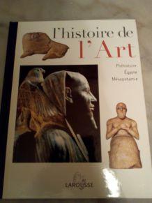 """LAROUSSE """"L'HISTOIRE DE L'ART"""""""