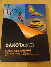 Dakota Box Sensations Aventure validité 03-2018