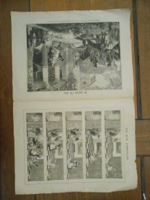 VIEUX PAPIER 1893 LES MOIS RUSTIQUES LA FENAISON PARTITION DUETTO LE SALON DE 1893 CHAMPS-ELYSEES HUMOUR