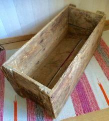 ancienne caisse bois PTB