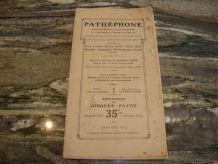 repertoire pathéphone 120 euros