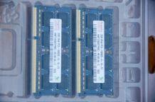 Mémoire 4 Go (2 x 2 Go) DDR3 SODIMM 1066 MHz PC3-8500