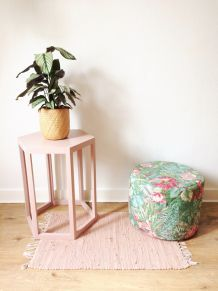 Pouf Vintage Tropical