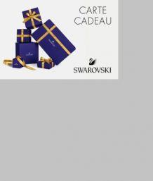 Carte Cadeau Swarovski à Offrir 100.00€