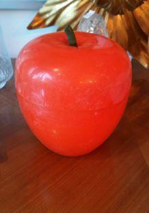 bac a glaçon orange