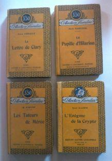 Livres collection familia - 1922 et 1931